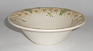 Metlox Pottery Poppy Trail Sculptured Daisy Cereal Bowl