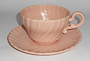 Franciscan Pottery Coronado Satin Coral Jumbo Cup/Sau (Image1)
