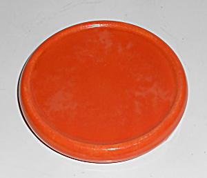 Franciscan Pottery El Patio Flame Orange Carafe Trivet (Image1)
