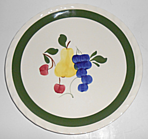 Blue Ridge Pottery Ridge Harvest Dinner Plate Mint