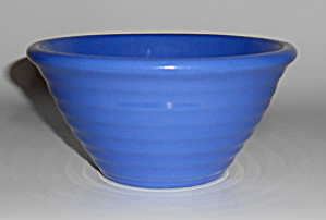 Garden City Pottery #30 Blue Ring Mixing Bowl Mint