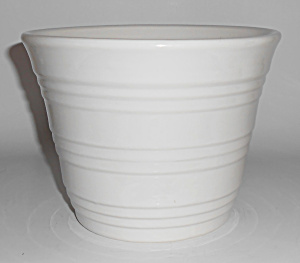Pacific Pottery Gloss White #1571 Flower Garden Pot Min (Image1)
