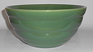 Bauer Pottery Gloss Pastel Kitchenware Green #12 Mixing