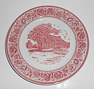 Mayer Restaurant China New Salem State Park Plate