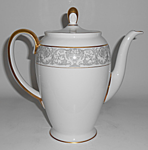 Rosenthal Porcelain China Florentine Gold Coffee Pot