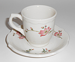 Syracuse China Summerdale Restaurant Demi Cup & Saucer