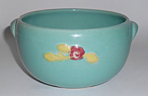Coors Pottery Rosebud Green Small Pudding Bowl
