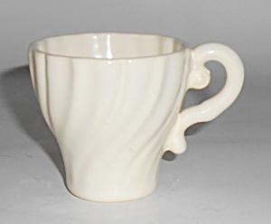 Franciscan Pottery Coronado Satin Ivory Demitasse Cup (Image1)