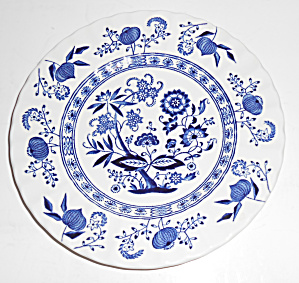J & G Meakin China Blue Nordic Bread Plate Mint