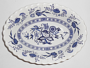 J & G Meakin China Blue Nordic Vegetable Bowl