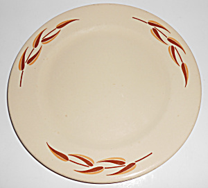 Syracuse China Leaves Restaurant Plate
