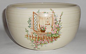 Coors Pottery Porcelain Open Window Large Pudding Bowl