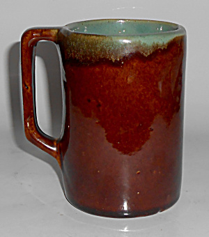Zanesville Stoneware Pottery Country Fare 5in Mug