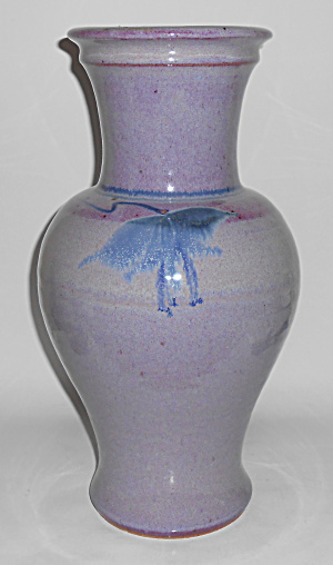 Early Bruning Studio Pottery Seattle Large Vase