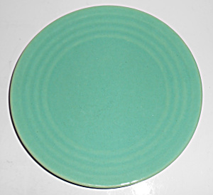 Bauer Pottery 1st Period Ring Ware Jade Salad Plate