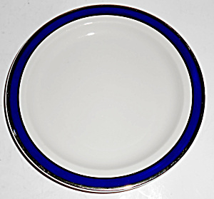Syracuse China American Airlines Cobalt W/platinum Band