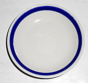 Syracuse China American Airlines Cobalt Band Ashtray