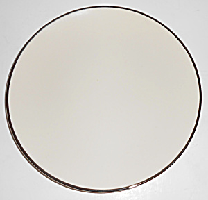 Franciscan Pottery Fine China Platinum Band Salad Plate