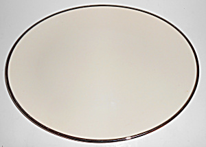 Franciscan Pottery Fine China Platinum Band Platter