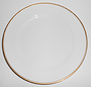 Meito China Japan Double Gold Band Dinner Plate