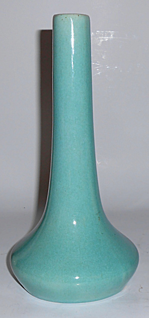 Muncie Pottery Gloss Green #104 Art Vase Buy-it-now