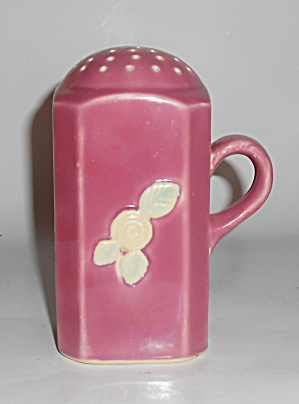 Coors Pottery Rosebud Early Red Sugar Shaker