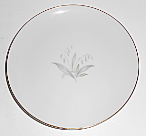 Kaysons China Porcelain Golden Rhapsody Bread Plate