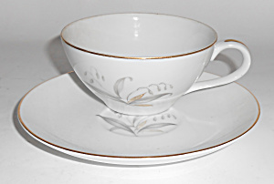 Kaysons China Porcelain Golden Rhapsody Cup & Saucer