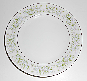 Taihei China Pottery Springtime Floral Bread Plate!  (Image1)