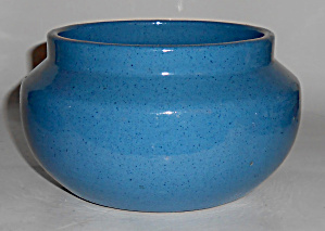 Peters And Reed Pottery Wilse Blue Bowl Mint