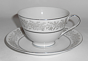 Seyei Fine China Japan Porcelain Brilliant Cup/saucer