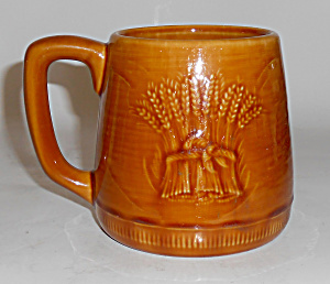Franciscan Pottery Wheat Harvest Brown Mug