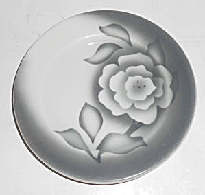 Sterling Restaurant China Airbrushed Rose Bread Plate