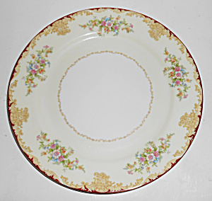 Noritake Porcelain China Mystery 175 Gold Dinnerplate