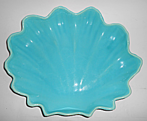 Catalina Pottery Floral Art Ware #c-219 Leaf Bowl