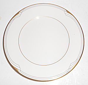 Noritake China Porcelain Golden Cove Bread Plate