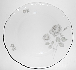 Mitterteich China Germany Porcelain Mystic Rose Dinner  (Image1)