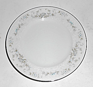 Noritake Porcelain China Patience Platinum Bread Plate