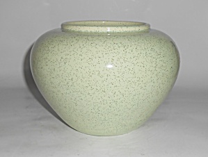 Bauer Pottery Green Speckle Indian Art Bowl
