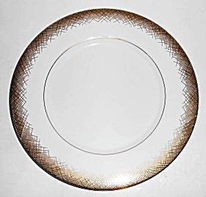 Mikasa Fine China Porcelain Majestic 5804 Dinner Plate