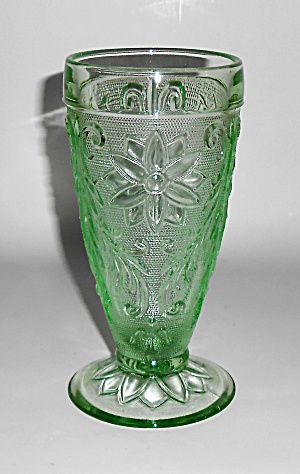 Indiana Glass Tiara Green Sandwich Ice Tea Glass