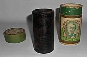 1900's Edison Cylinder Record Coon Song 'let It Alone'