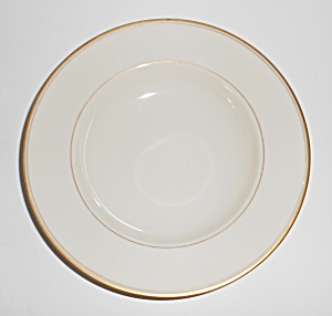 Franciscan Pottery Fine China Gold Band Rimmed Soup