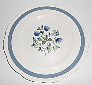 Alfred Meakin China Blue Clover Dinner Plate