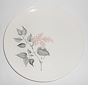Sabin China Pink Floral Dinner Plate