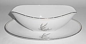 Noritake Porcelain China Candice Pussy Willow Gravy