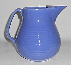 Bauer Pottery Monterey Blue Ice Lip Pitcher
