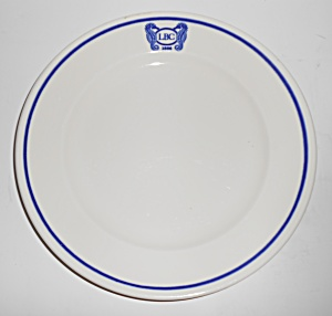 Syracuse China Restaurant Ware Lbc 100 Year Com Plate