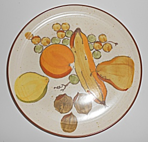 Metlox Pottery Poppy Trail Tropicana Dinner Plate