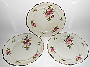Rosenthal Porcelain China Courtship Roses Set/3 Salad